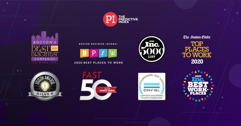 The Predictive Index Celebrates Eight Awards Highlighting Innovation Company Culture And Growth