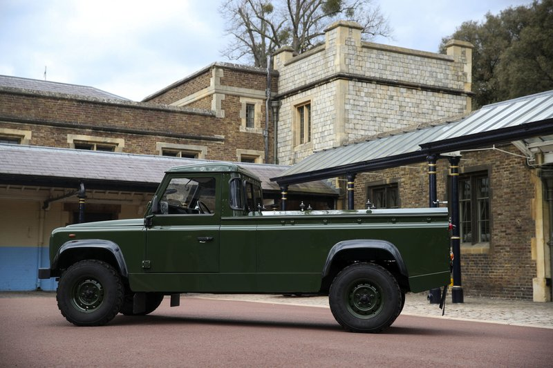 Prince Philip in looking ahead, designed his own hearse, a modified Jaguar Land Rover