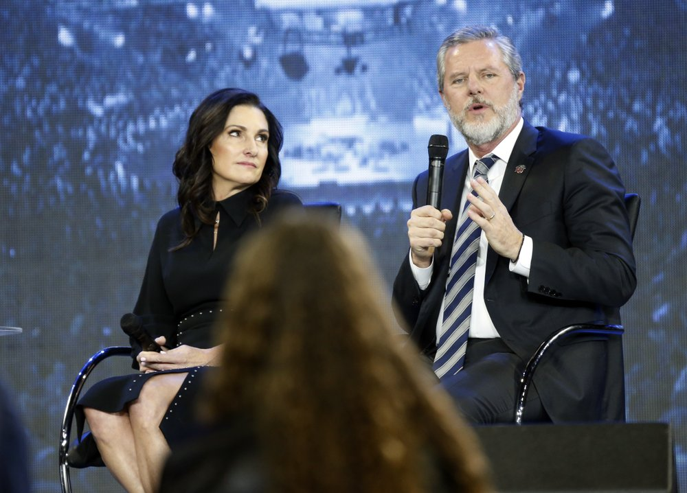 Jerry Falwell Jr., chancellor and president of Liberty University agreed to resign, then reversed course
