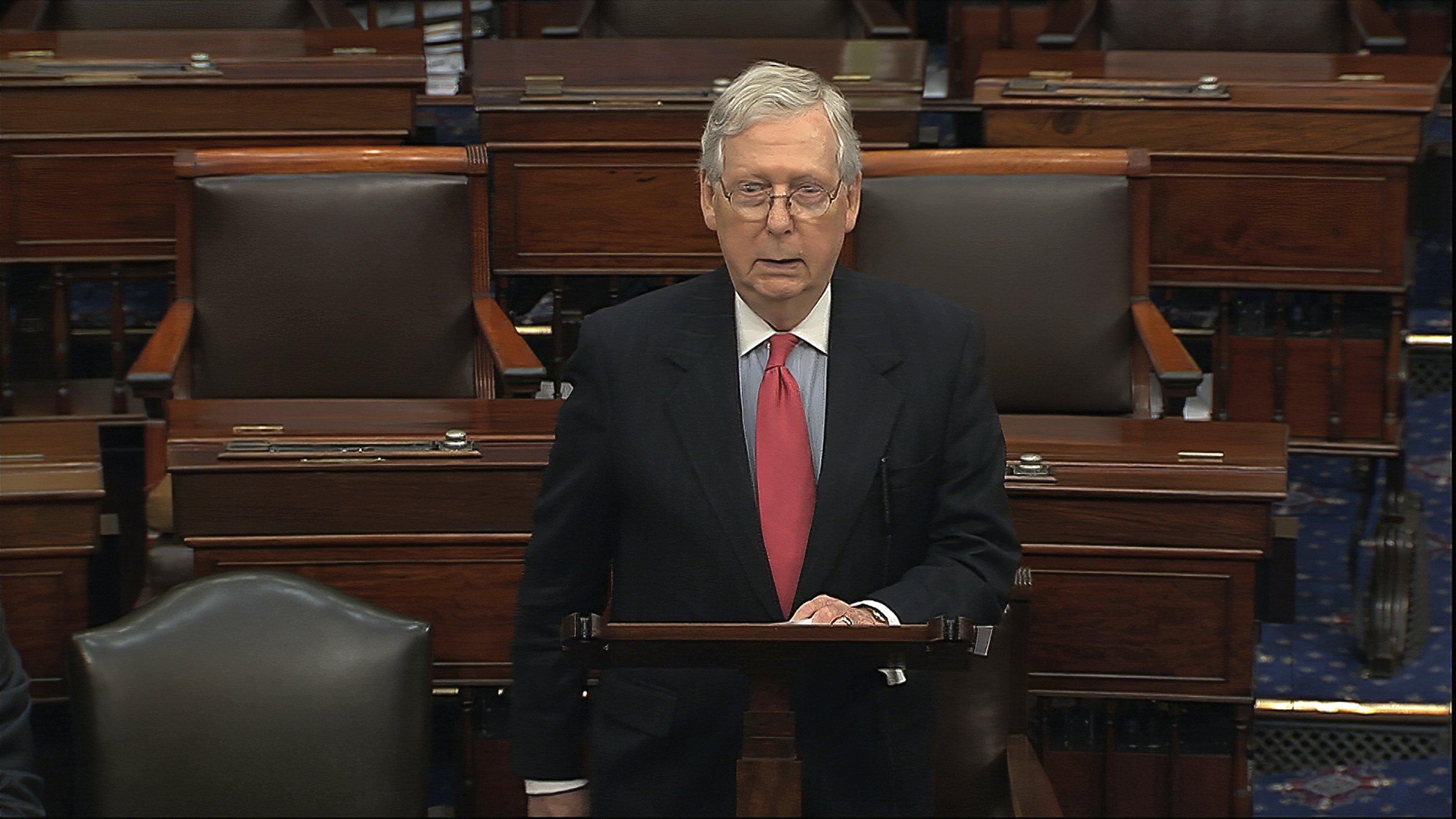Pelosi forecasts House OK of Senate's $2.2T virus aid plan