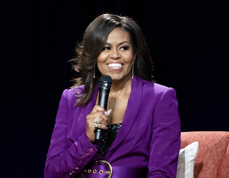 Michelle Obama on retirement and knitting