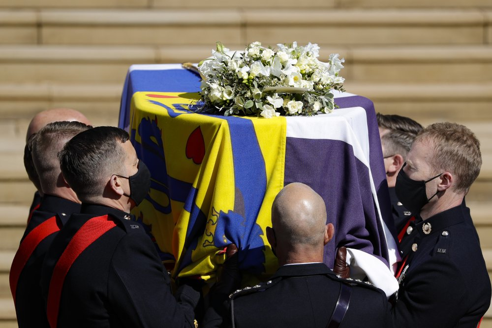 Prince Philip laid to rest in the Royal Vault at St. George's Chapel