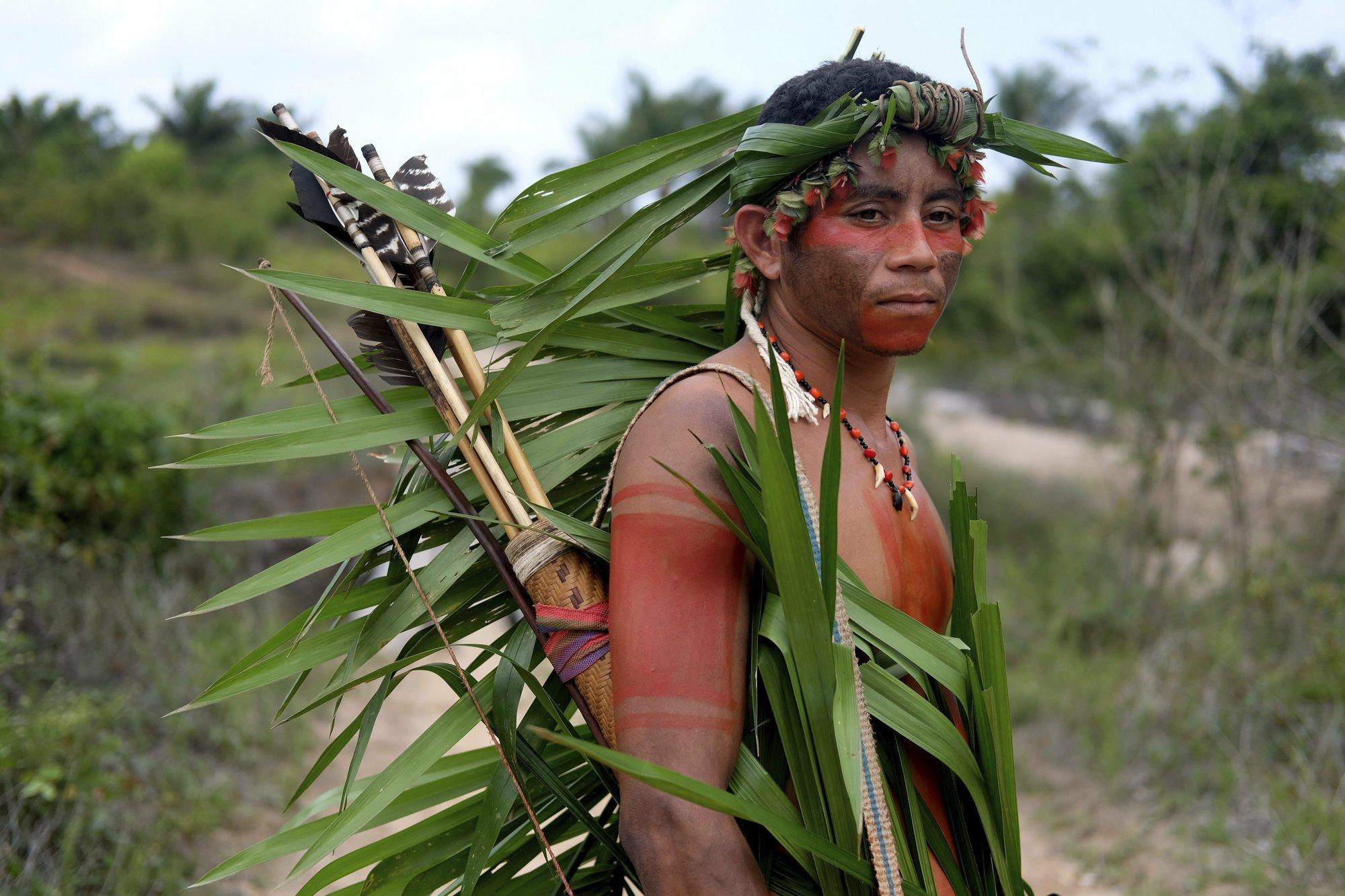 Amazon tribe in Brazil patrols territory, braces for fight