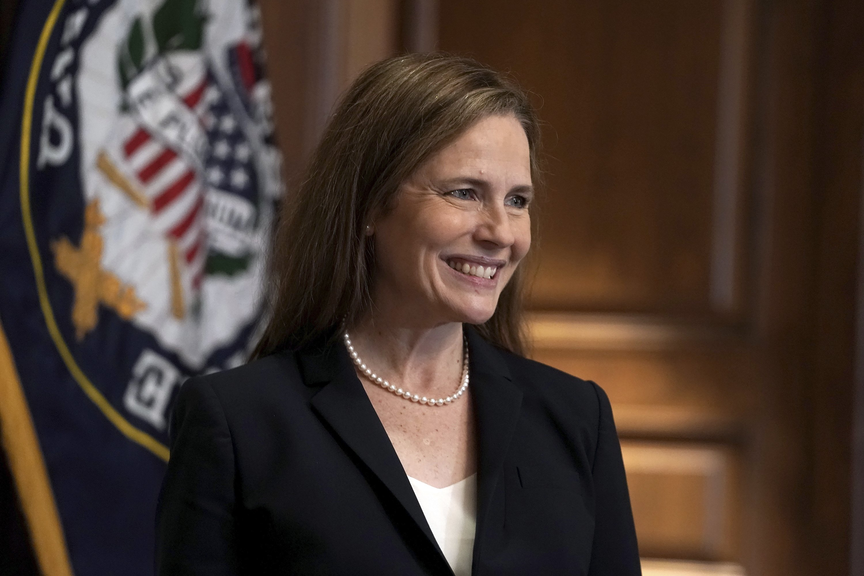 BREAKING: The U.S. Senate has confirmed Amy Coney Barrett as a Supreme Court justice, solidifying the court's rightward tilt just days before the election.