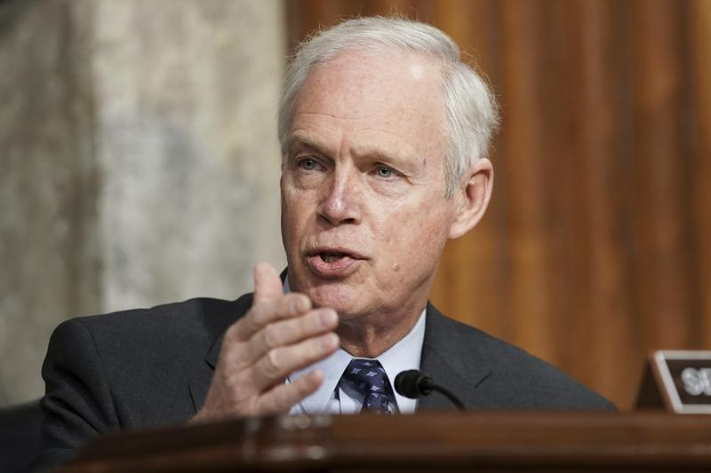 Sen. Ron Johnson's insurrection comments that he might have been concerned if the protesters at the Capitol were Black Lives Matter ptotesters, seen as racist