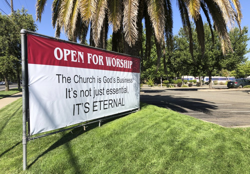 Appeals court upholds California's ban on indoor worship