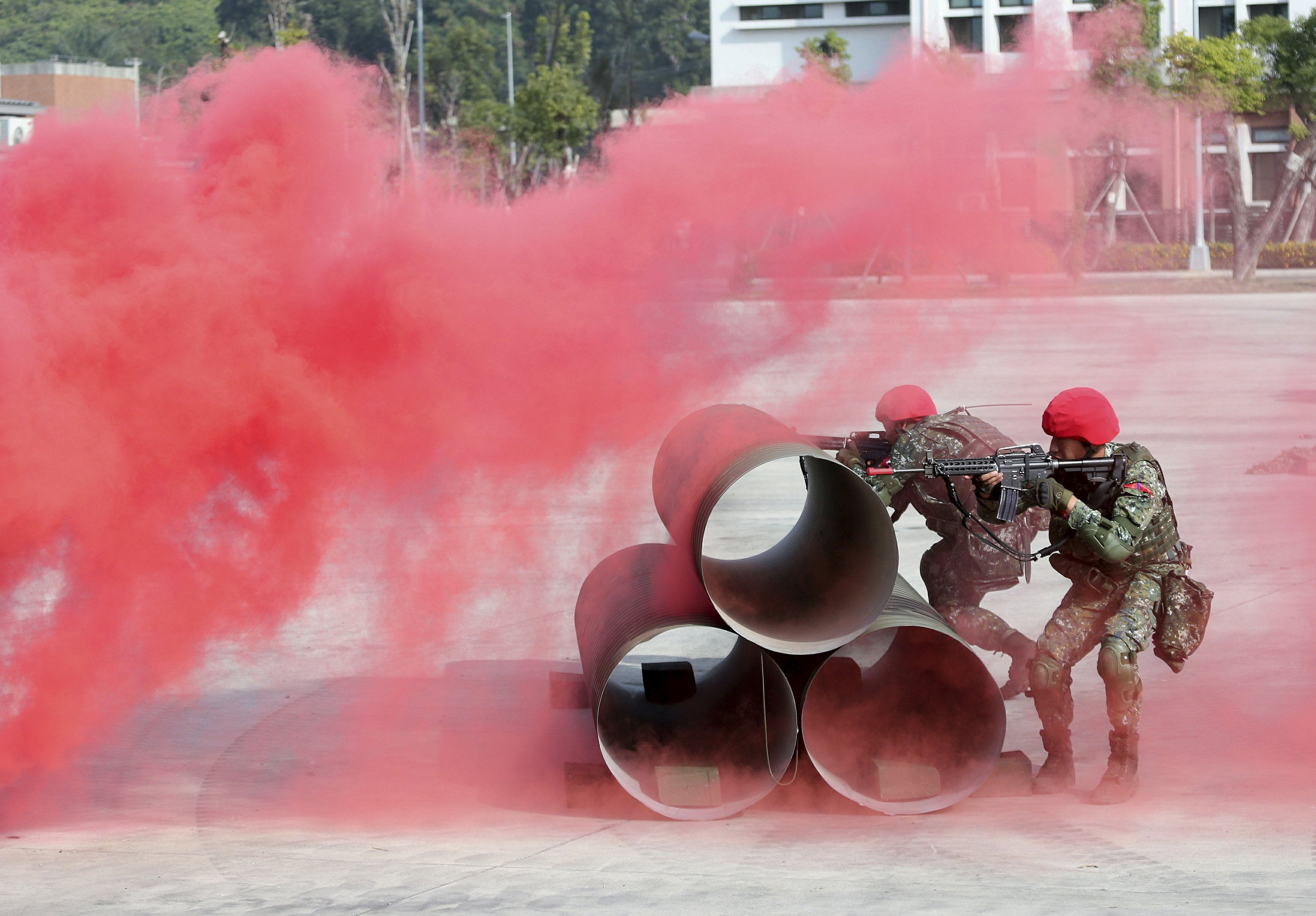 Taiwan holds latest military drills following elections