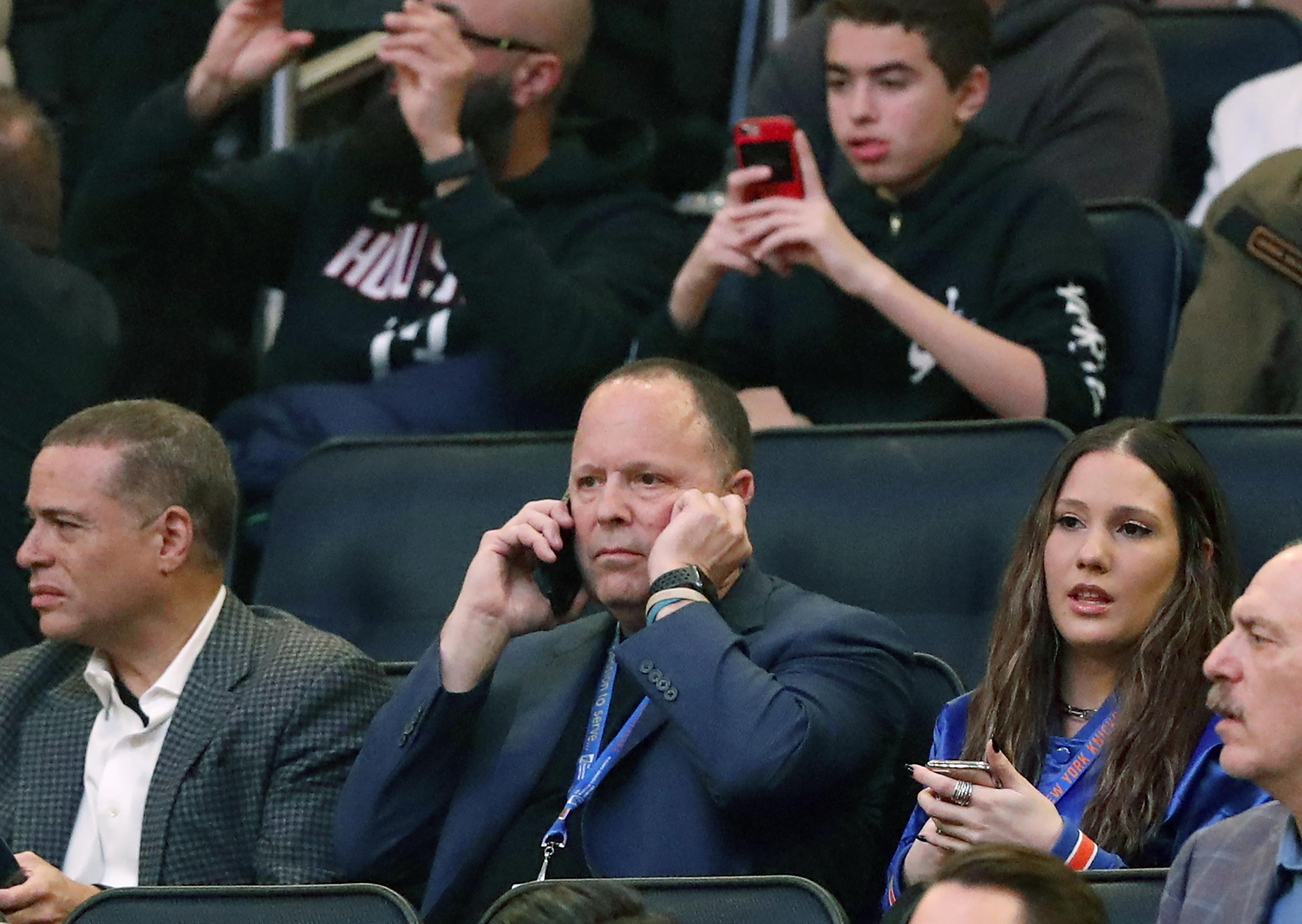 Knicks hire longtime player agent Leon Rose as president