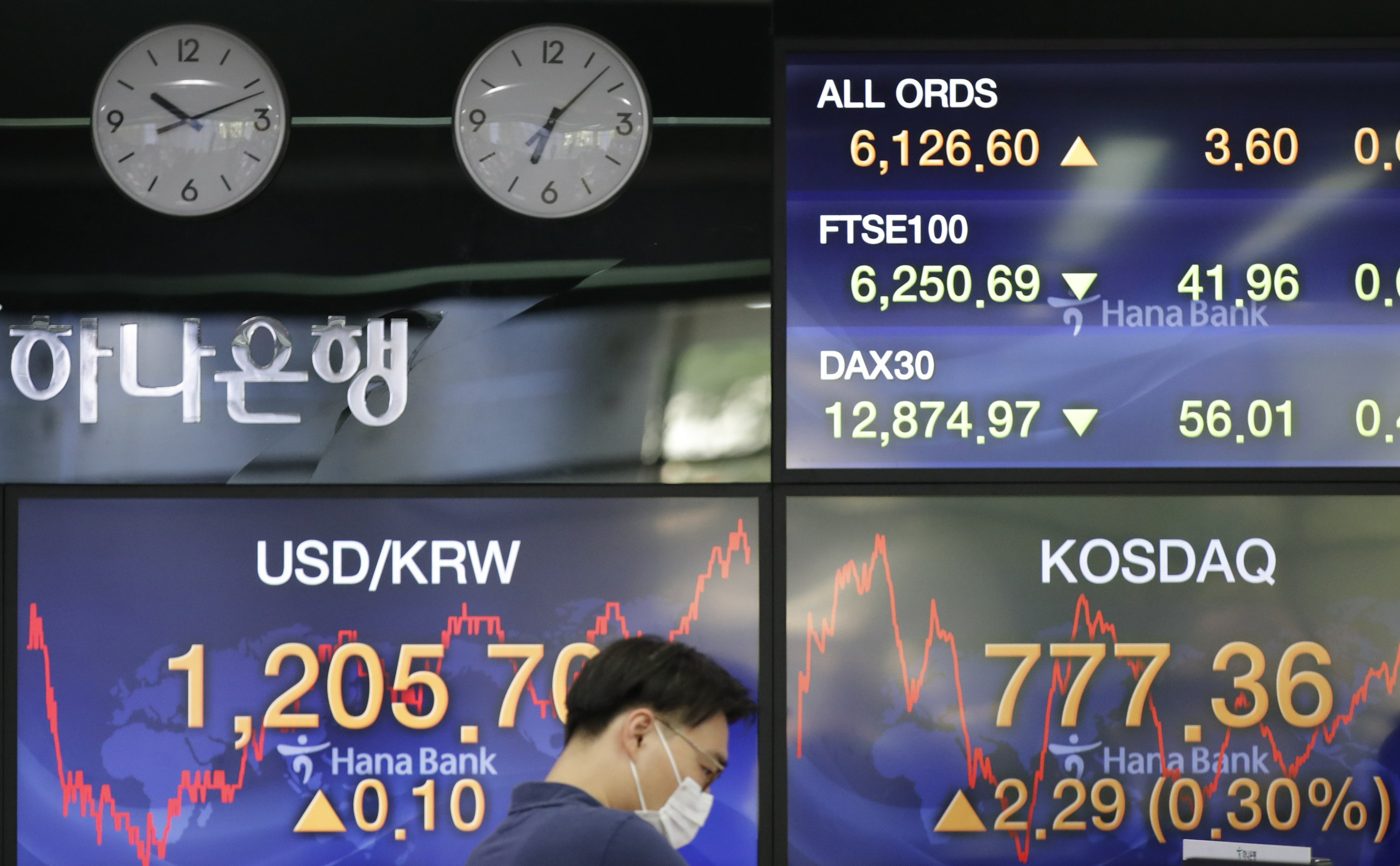 Asian stock prices rebound after Wall Street slips