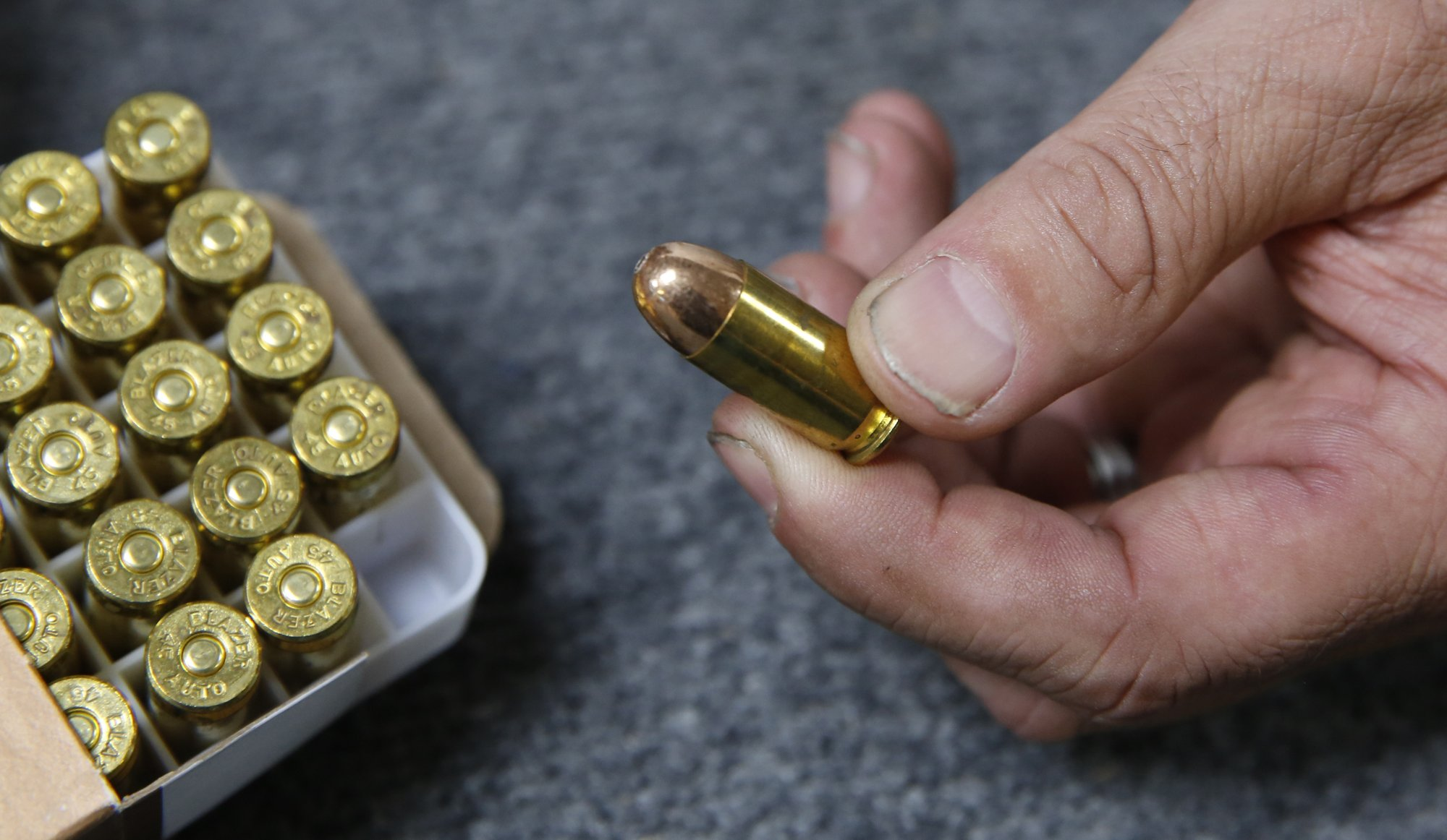 Glitches snarl start of California's ammo background checks