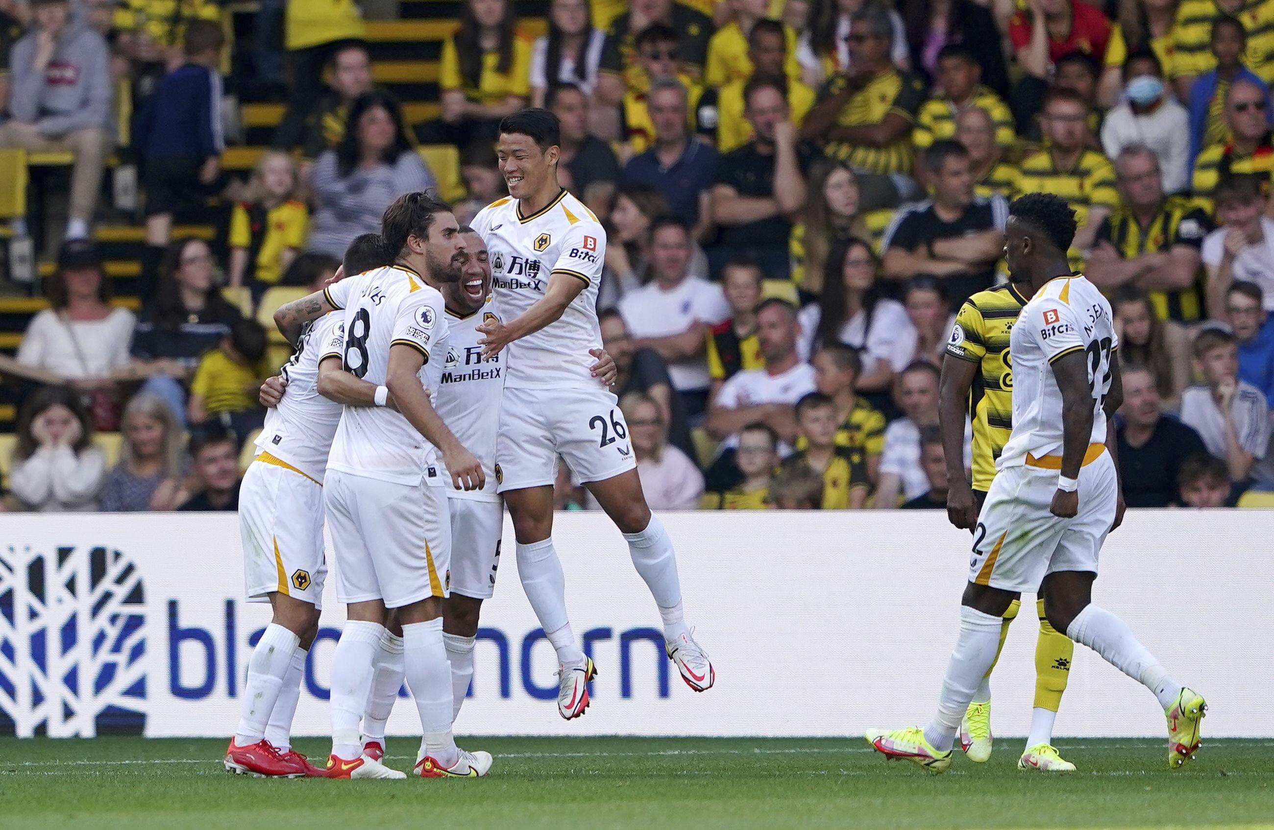 SKorea's Hwang scores as Wolves finally earn first EPL win - Associated Press