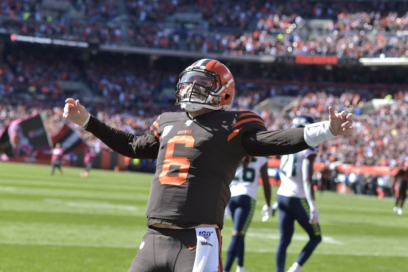 Scary Good Browns Mayfield Set For Ghostly Patriots D