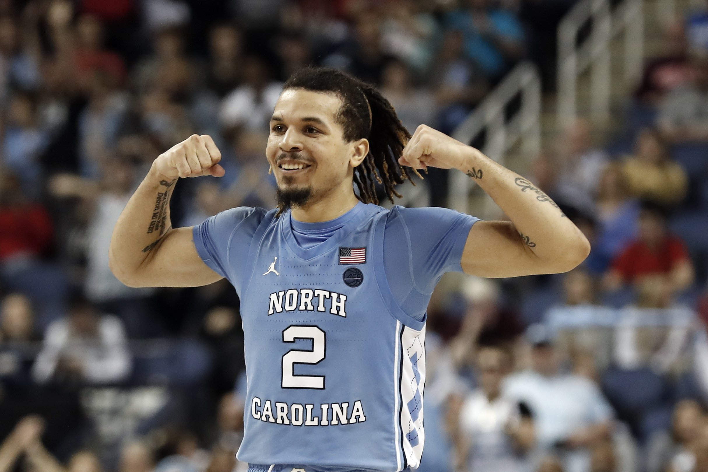 Cole Anthony with 15th pick