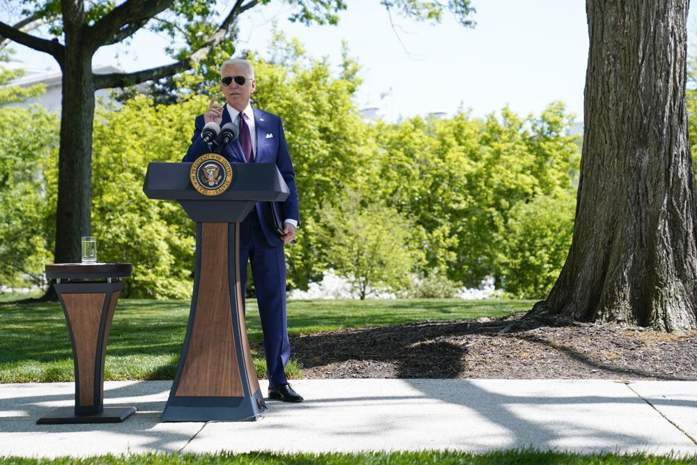 President Biden highlights path back to American normal