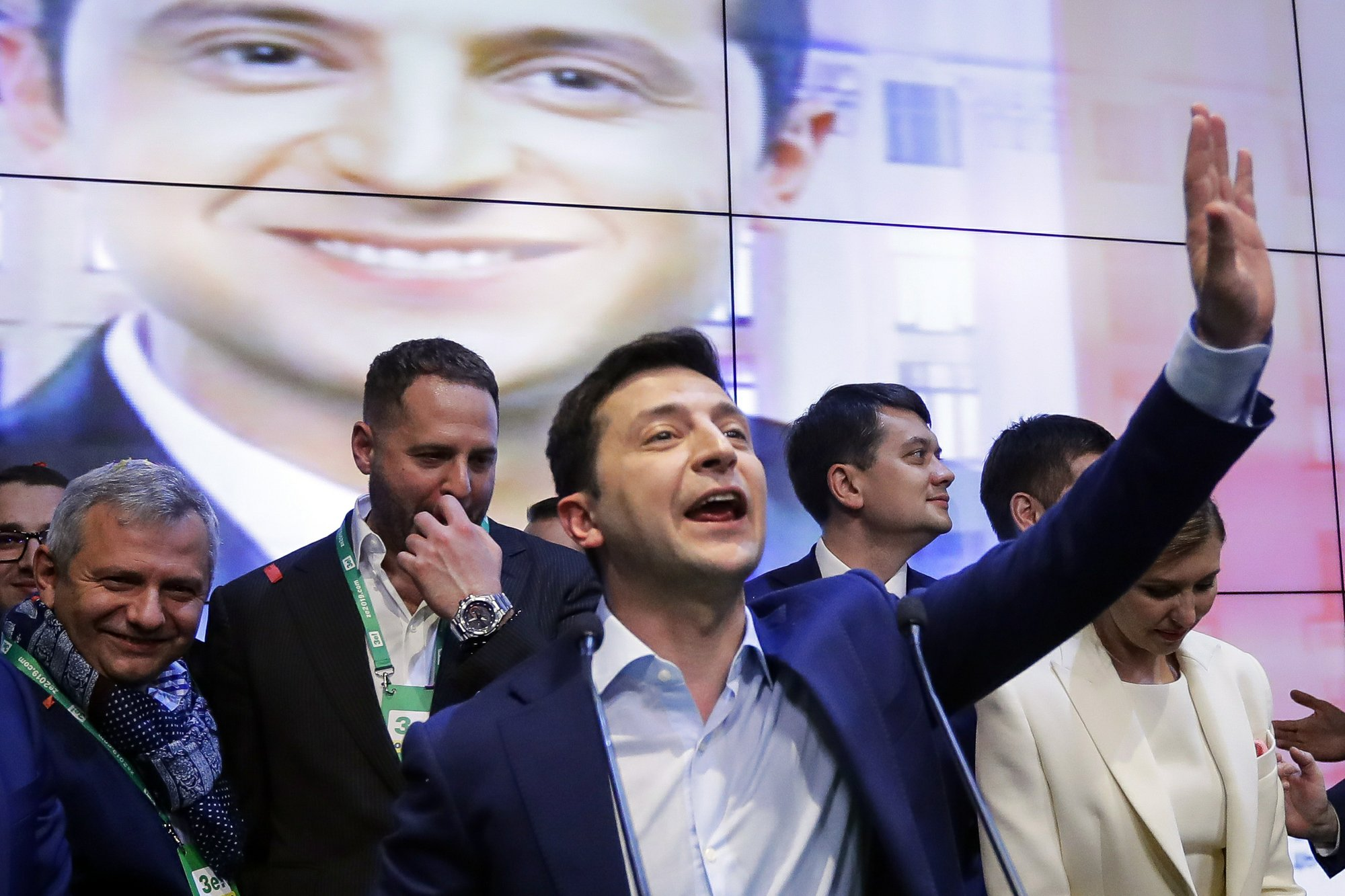 Ukrainian leader felt Trump pressure before taking office