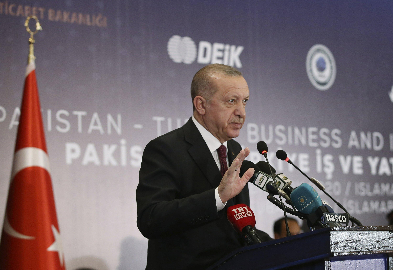 Erdogan criticizes EU move to enforce Libyan arms embargo