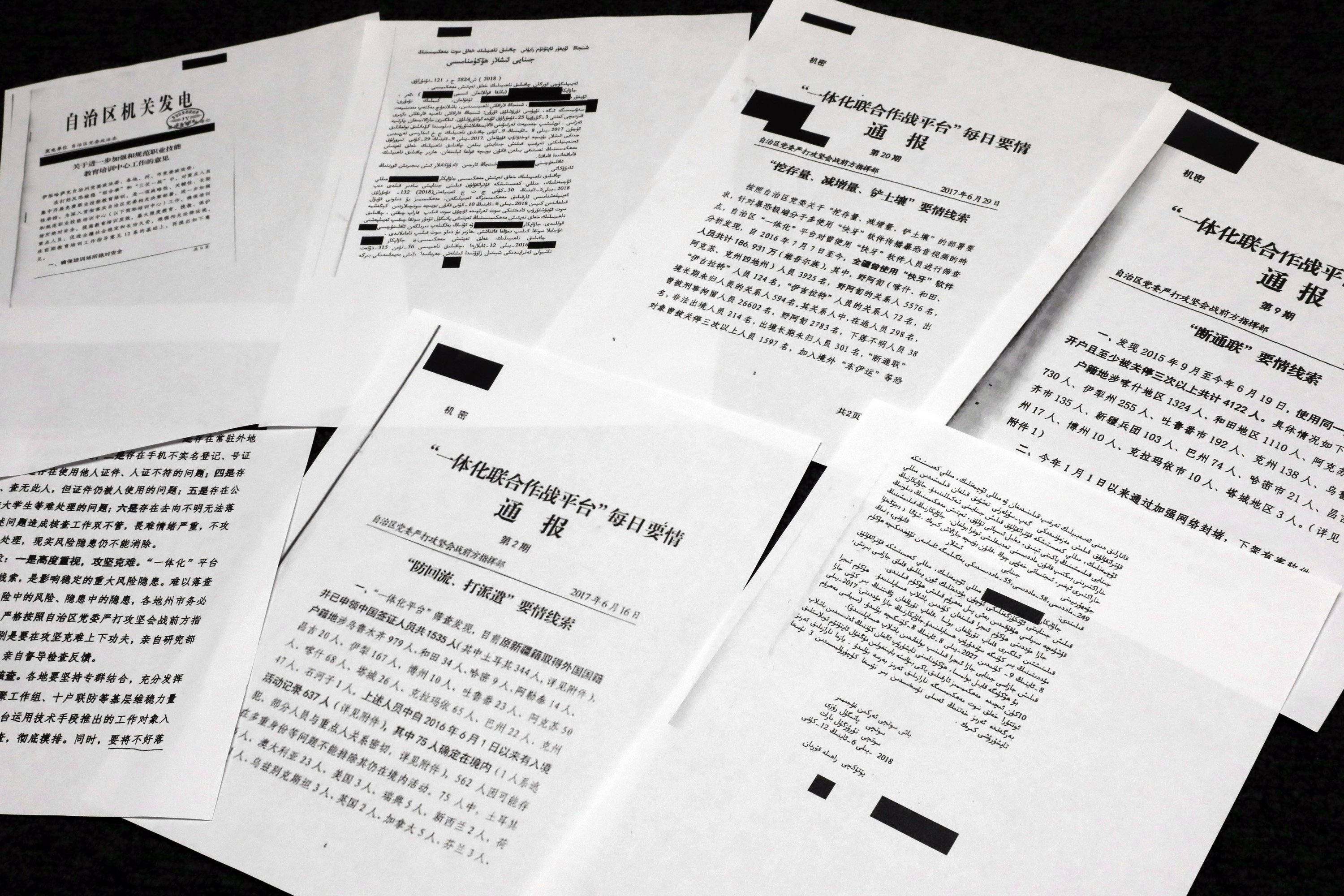 Ancient Chine Torture Porn secret documents reveal how china mass detention camps work