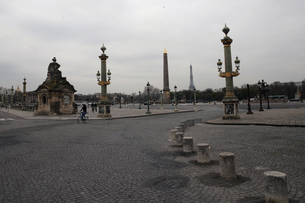 Silence– a rare phenomenon in a once busy city like Paris