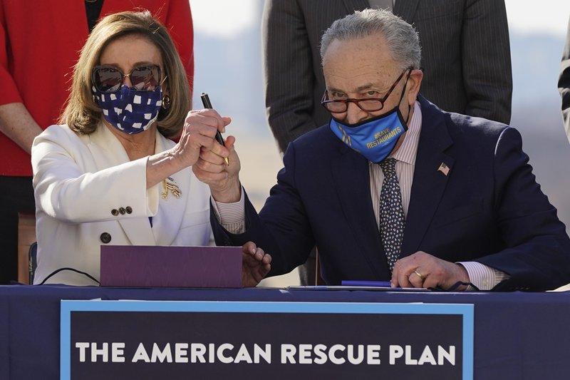 Congress OKs $1.9T virus relief bill in win for Biden, Dems