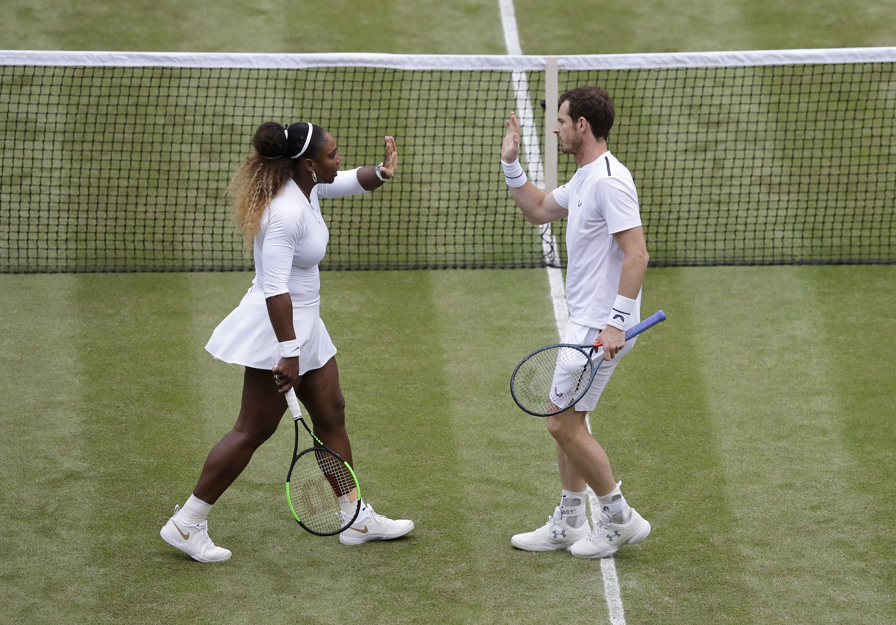 The Latest Williams Murray Win Mixed Doubles Opener