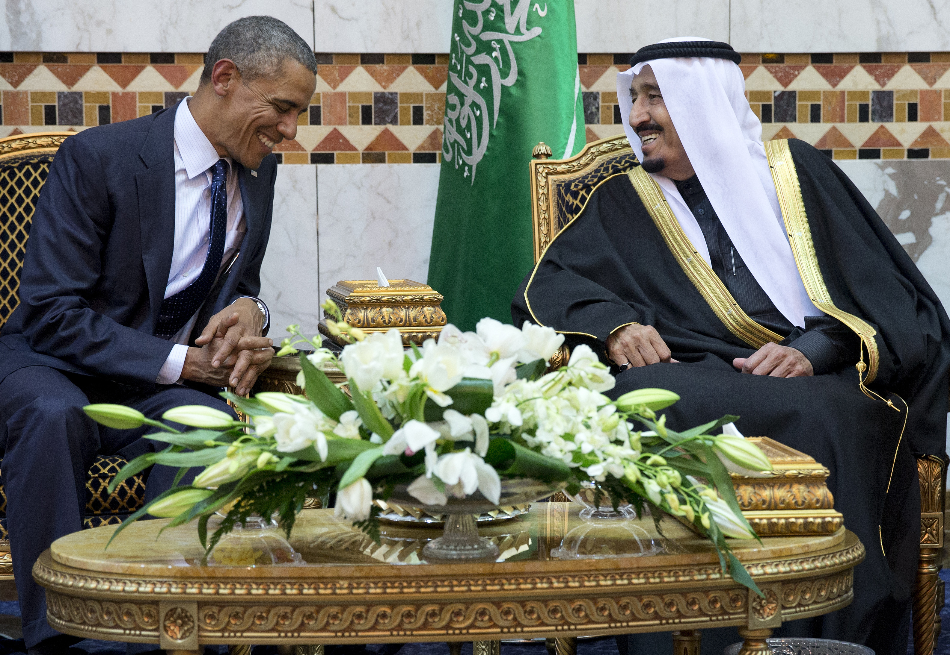 In Saudi visit, Obama faces 'curveball' in ties with kingdom