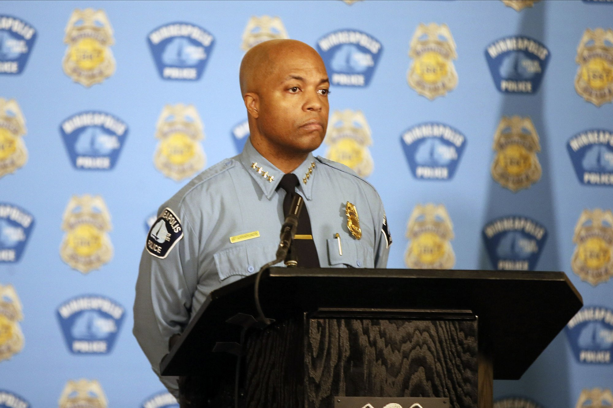 Minneapolis Police Chief Takes On Union Promises Change