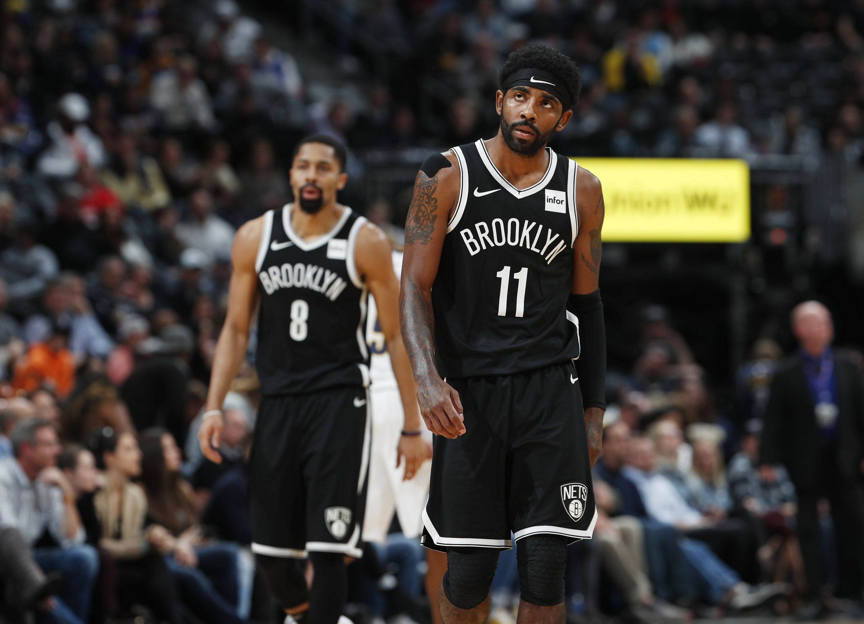 Nets' Kyrie Irving out with shoulder injury vs Chicago