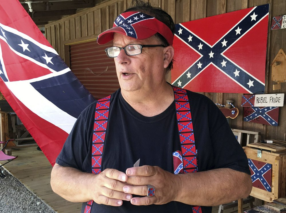 Confederate flag losing prominence 155 years after Southern states lost a war to perpetuate slavery