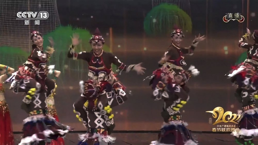 Blackface performers featured in Chinese New Year's gala