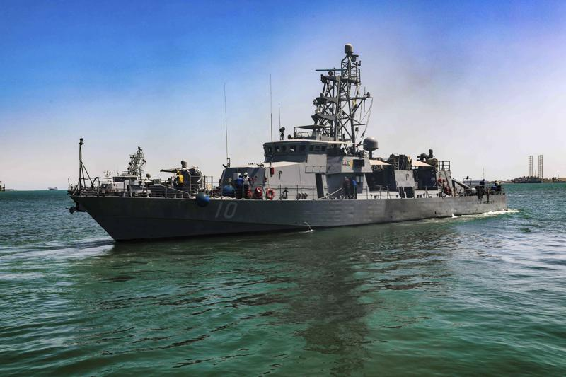American warship fires warning shots when Iranian military vessel came too close to a patrol in the Persian Gulf