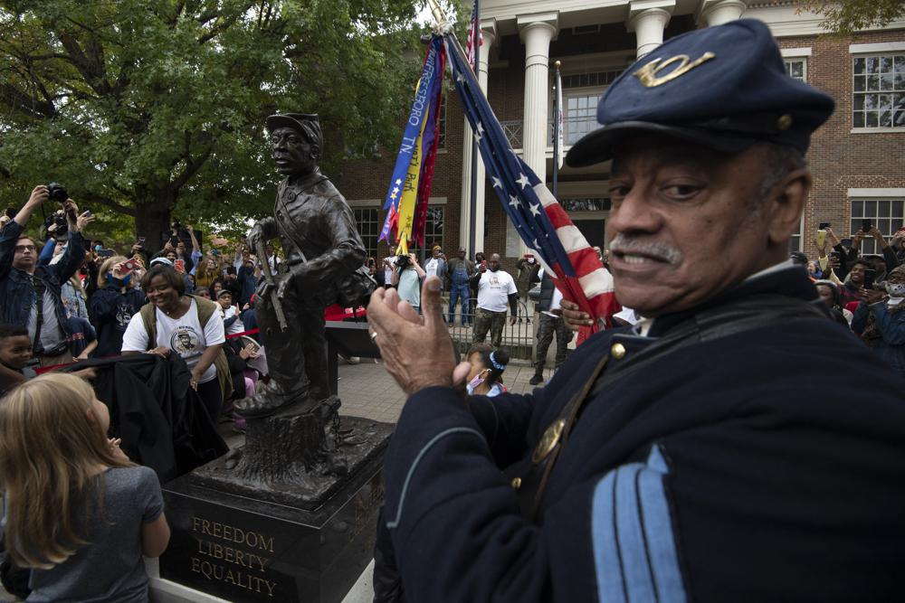 Tennessee City Adds Statue to Honor Black Civil War Soldiers