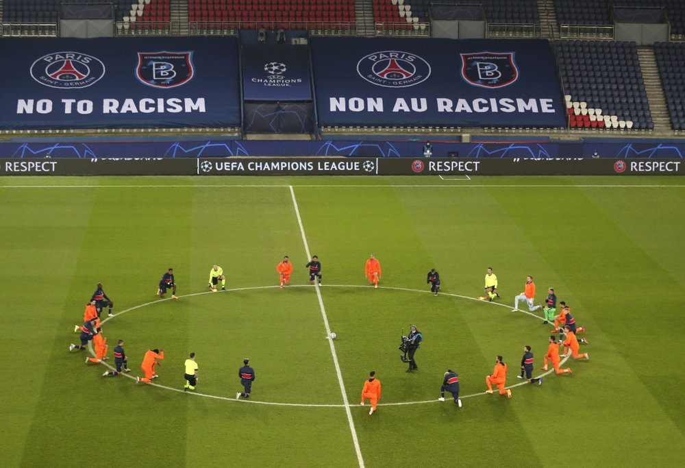 Extraordinary walk off reveals high racism in European soccer