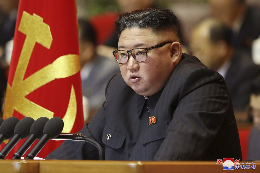 Kim Jong Un vows to strengthen North Korea's military at party meeting