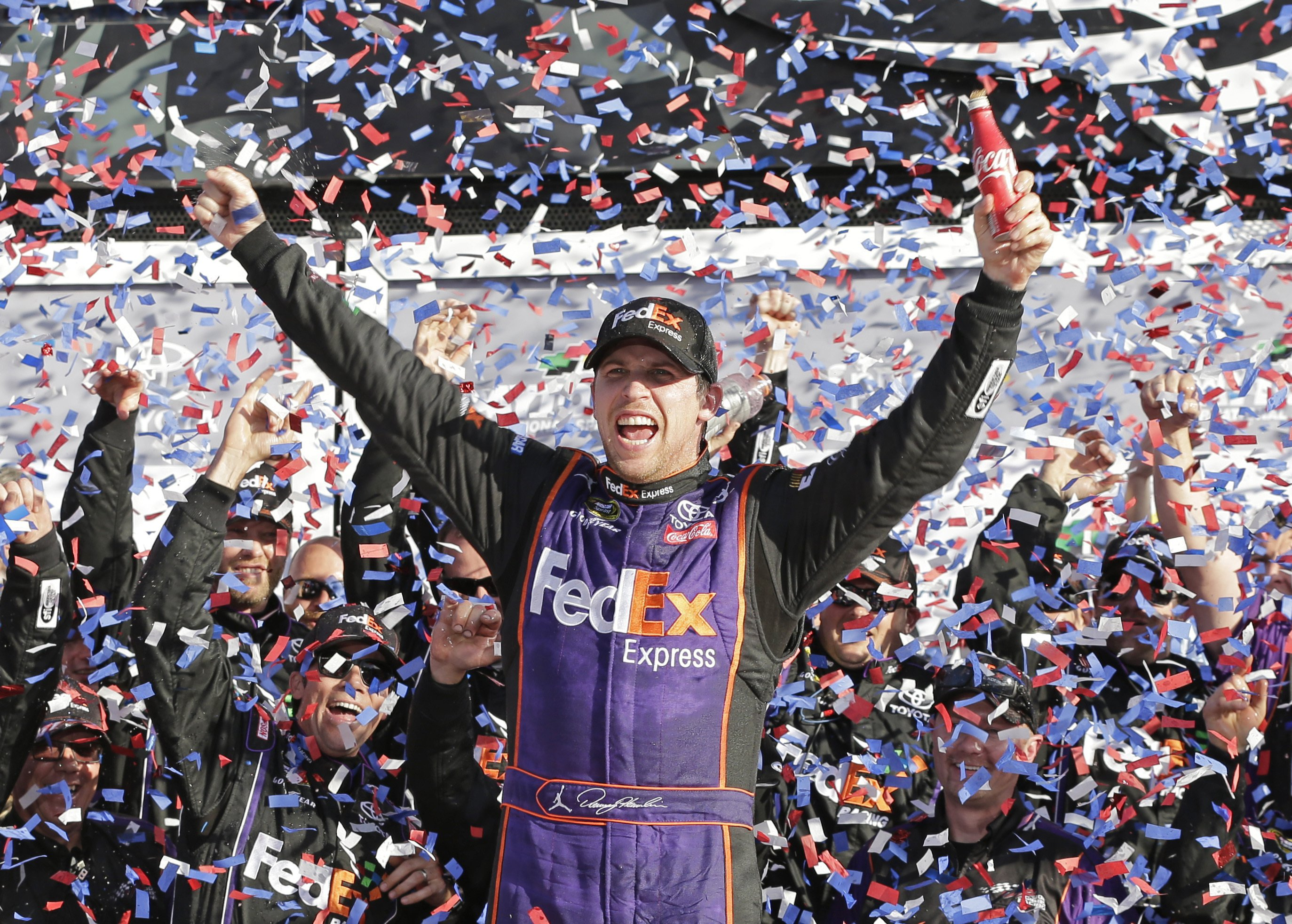 Hamlin, Michael Jordan partner on NASCAR team for Wallace