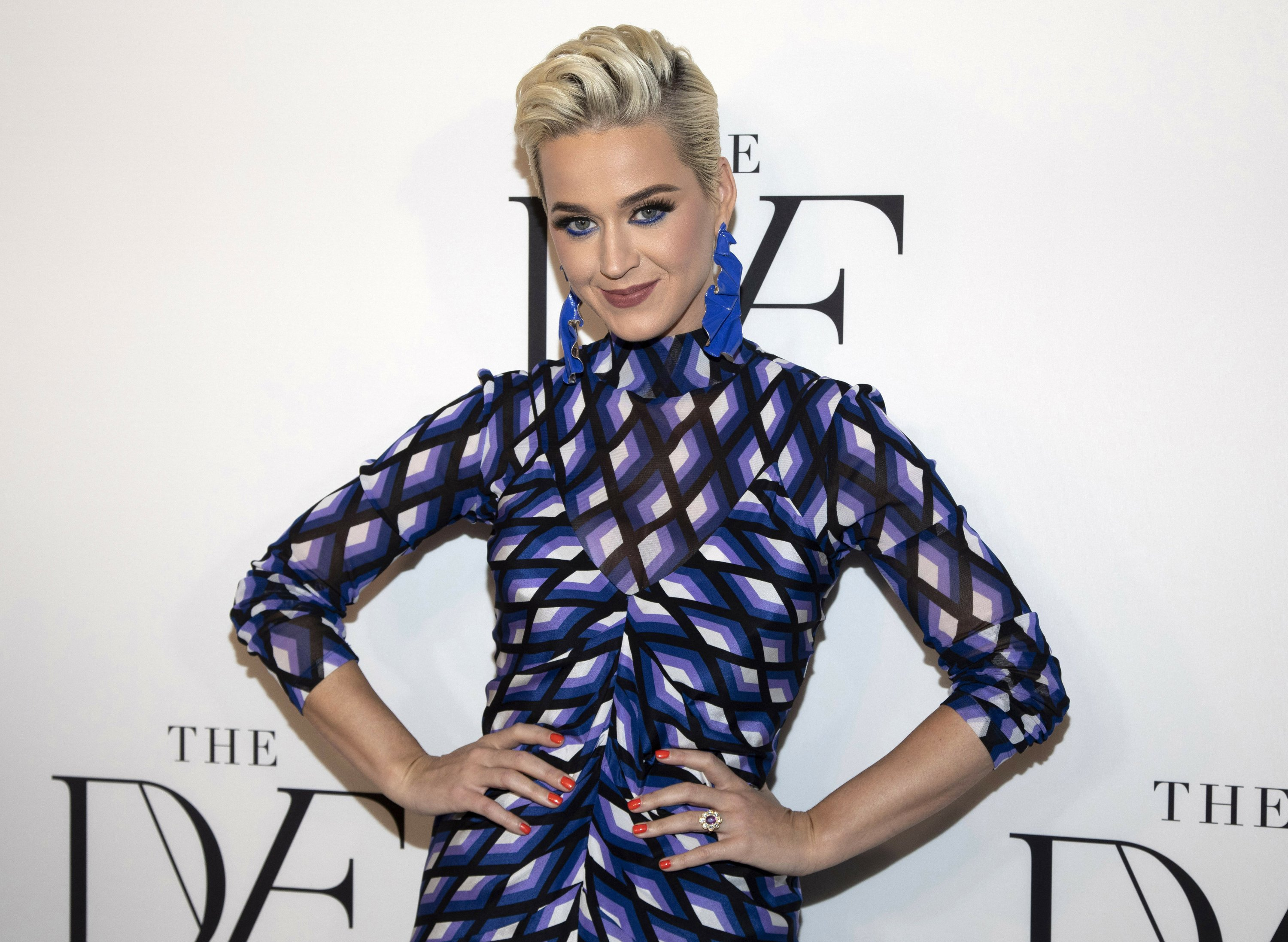 The Latest: Jury tells Katy Perry, others to pay $2.78M