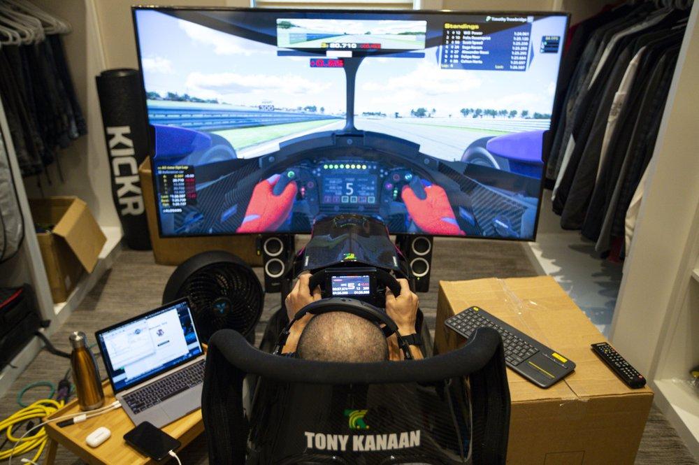 Scott McLaughlin wins virtual IndyCar event racing from Australia