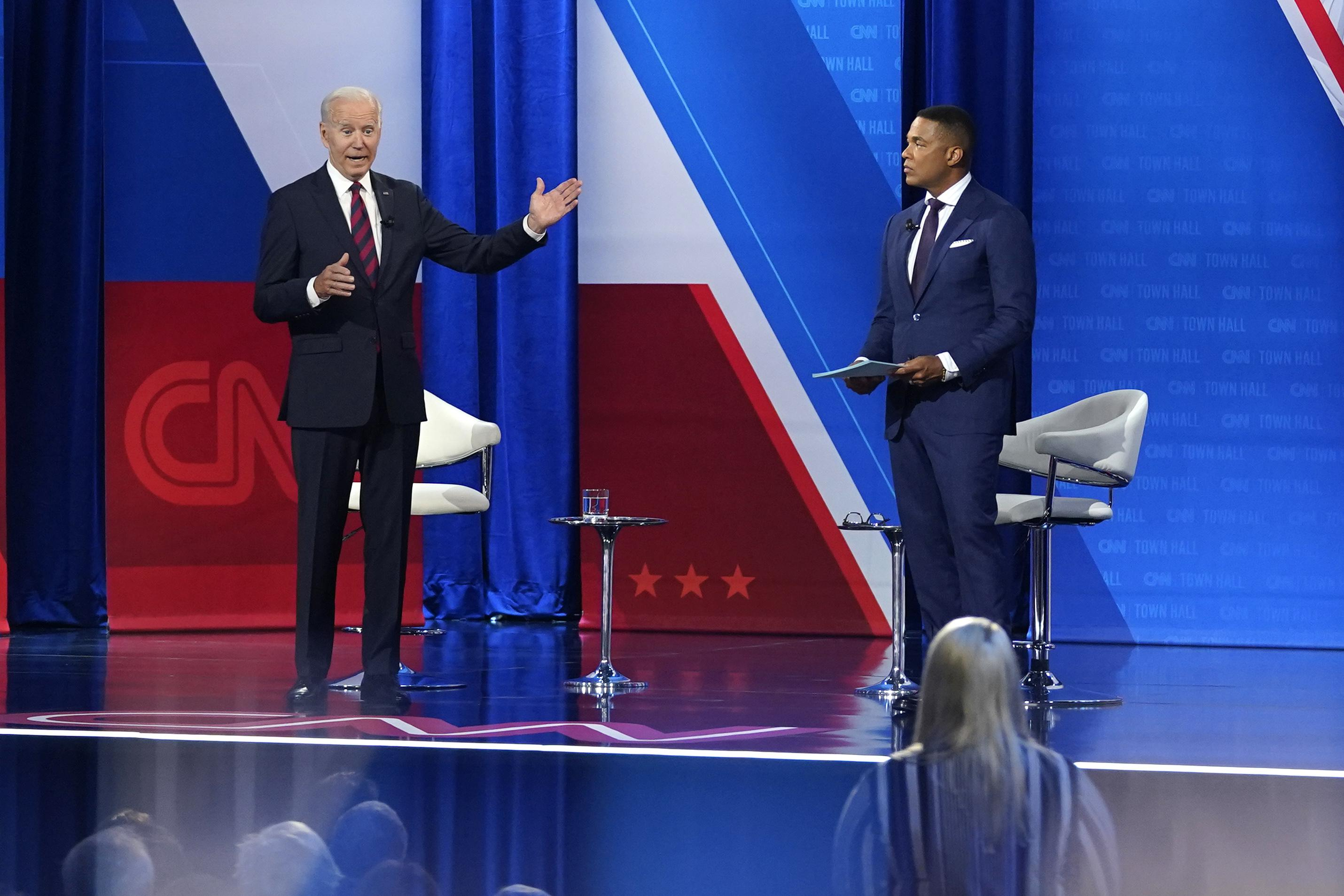 AP FACT CHECK: Biden goes too far in assurances on vaccines
