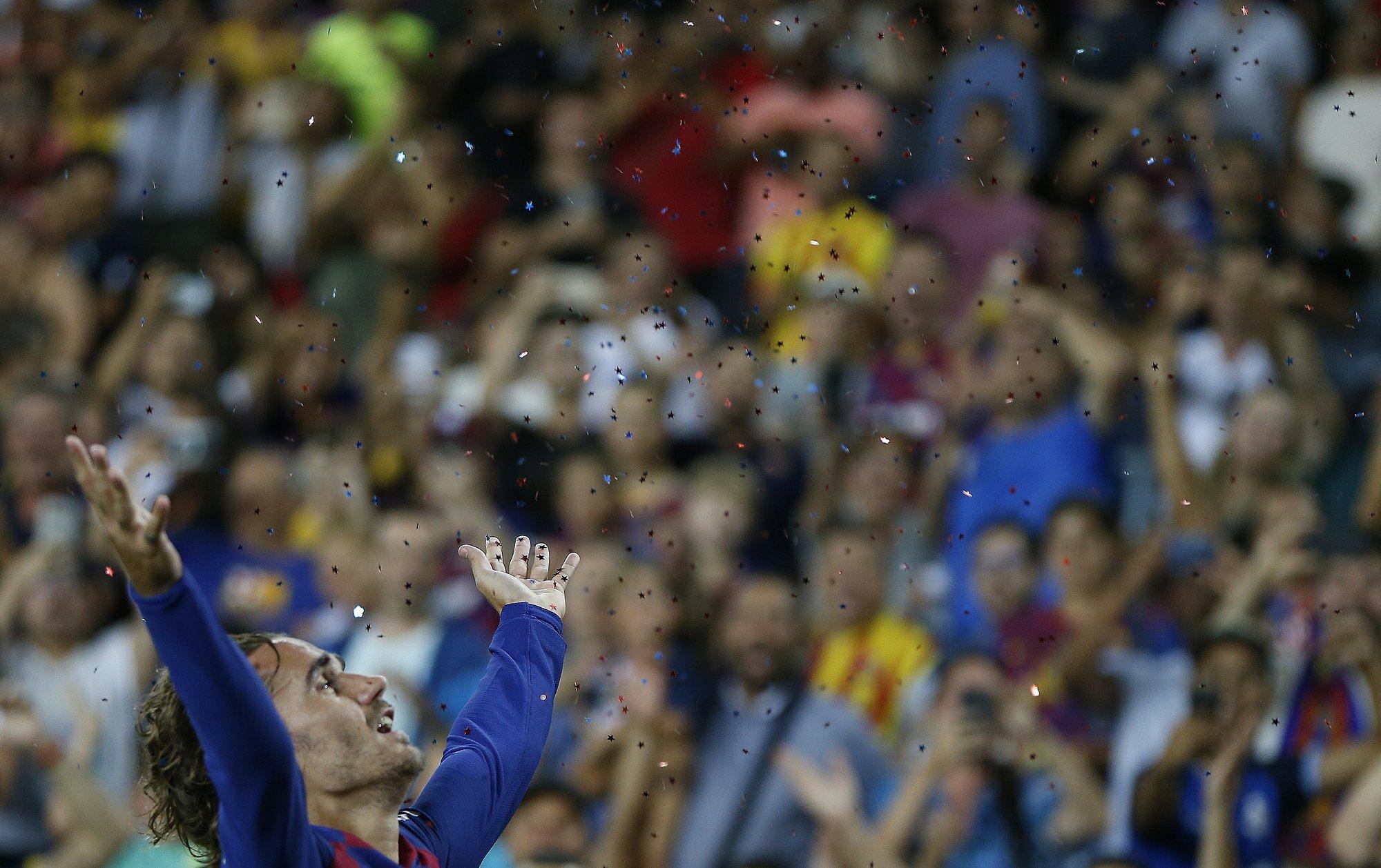 Messi, LeBron inspire Griezmann as Barcelona routs Betis 5-2