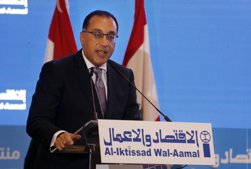 Egypt's premier Mustafa Madbouly visits Libya to discuss trade, other ties with new government
