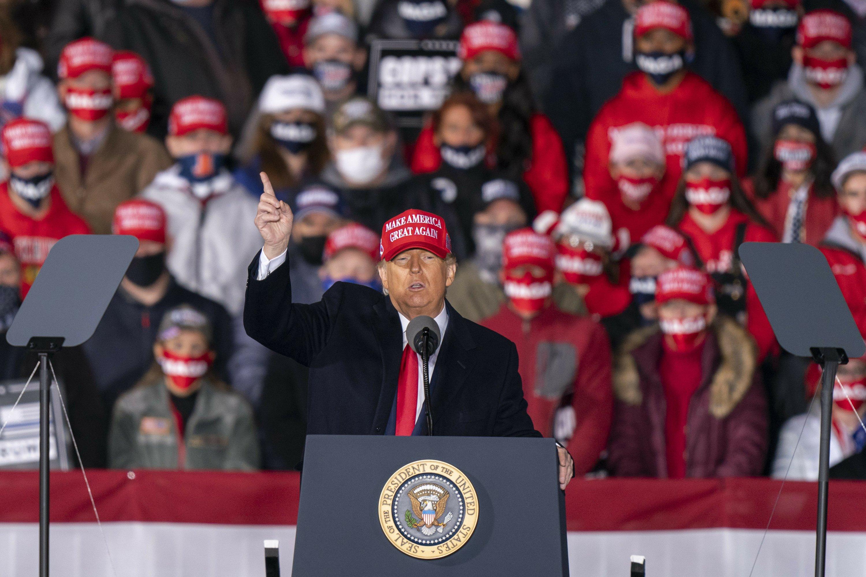 AP FACT CHECK: Trump's falsehoods on virus, taxes and Bidens