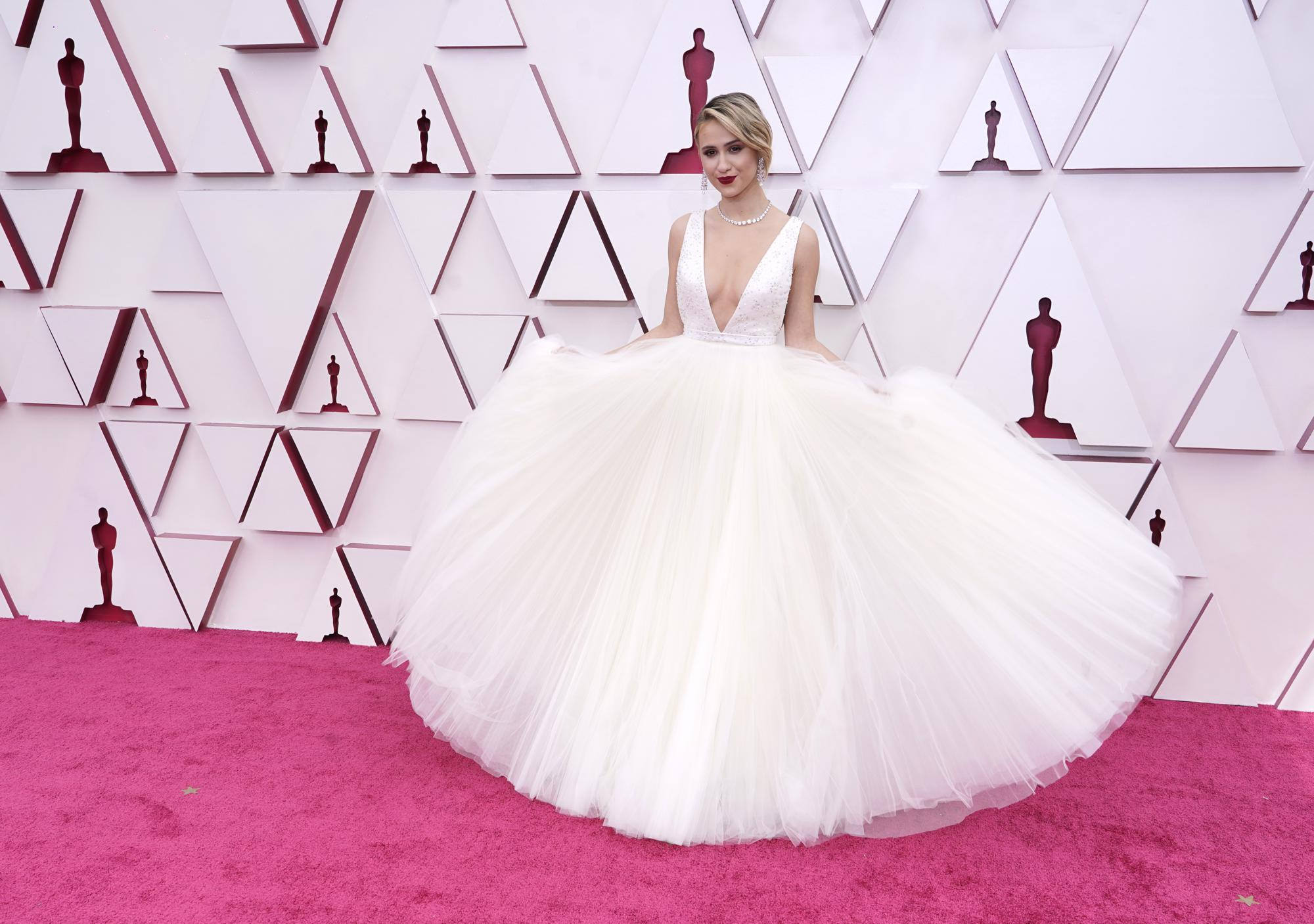The Oscars bring out big parade of fashion