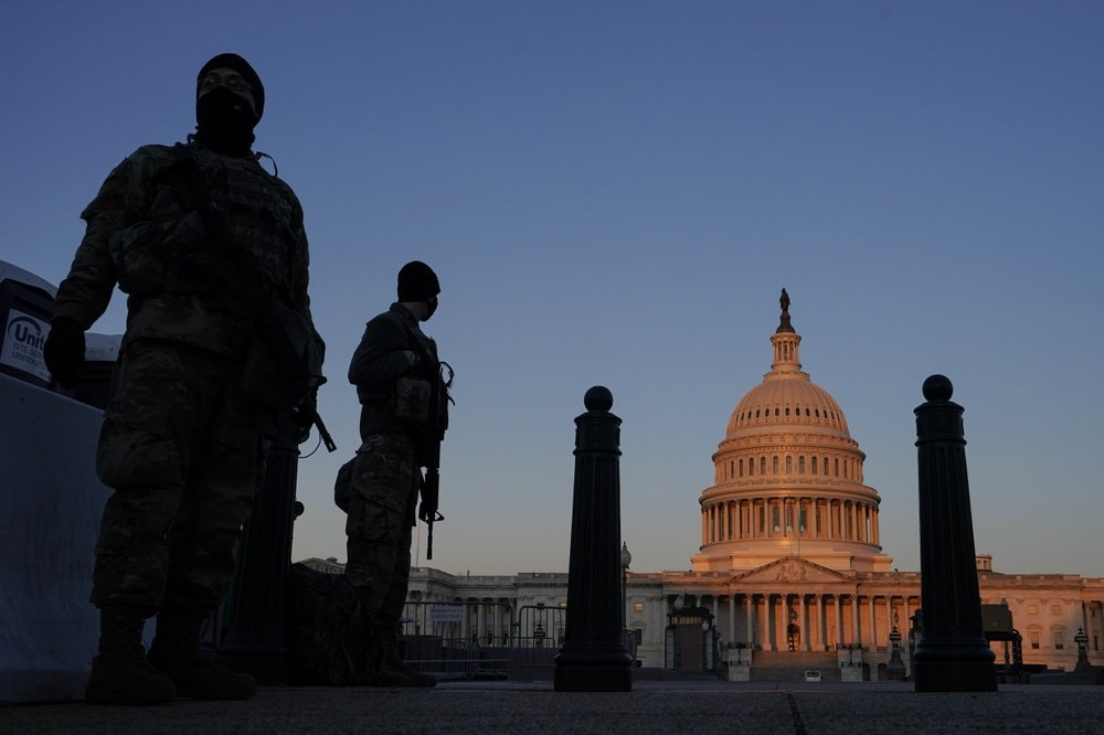 Pentagon approves extending National Guard deployment at Capitol as threats of violence remain