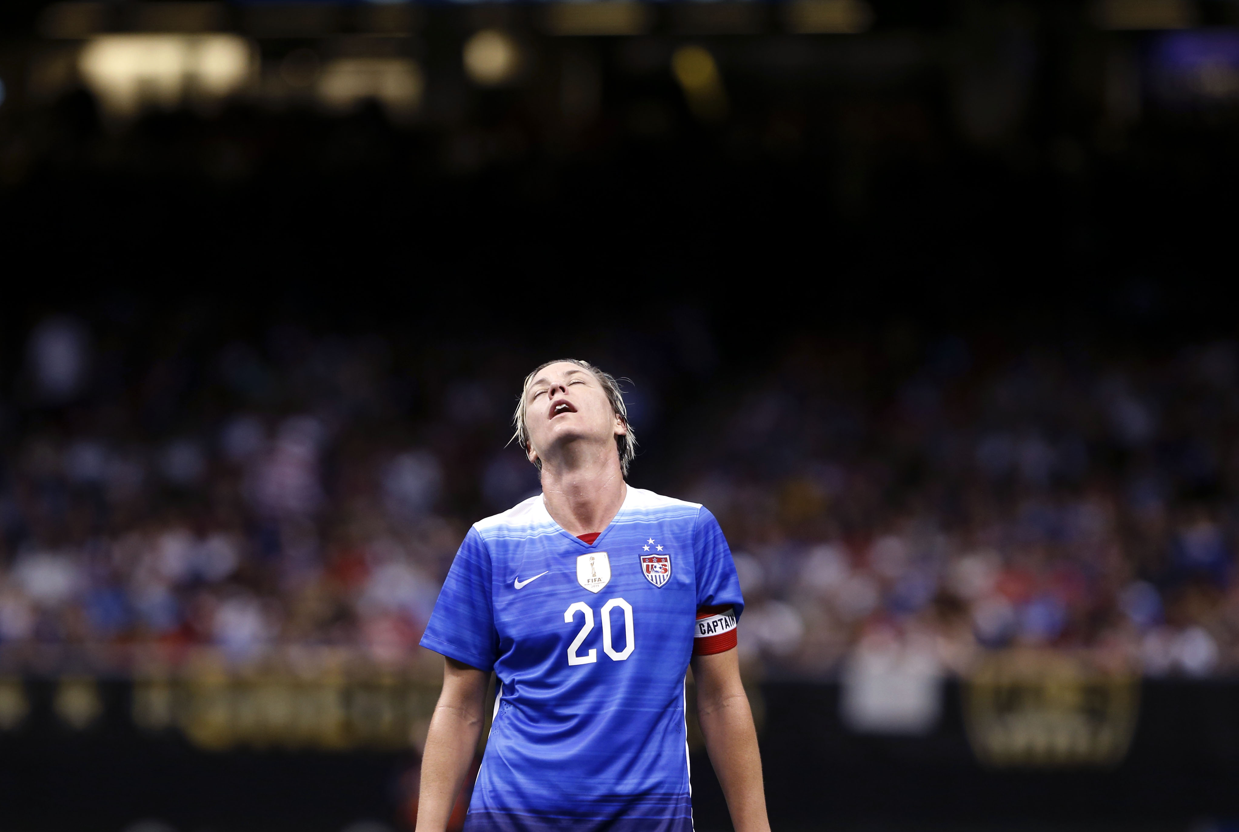 finest selection 37592 0865c Abby Wambach: I abused alcohol, prescription drugs for years
