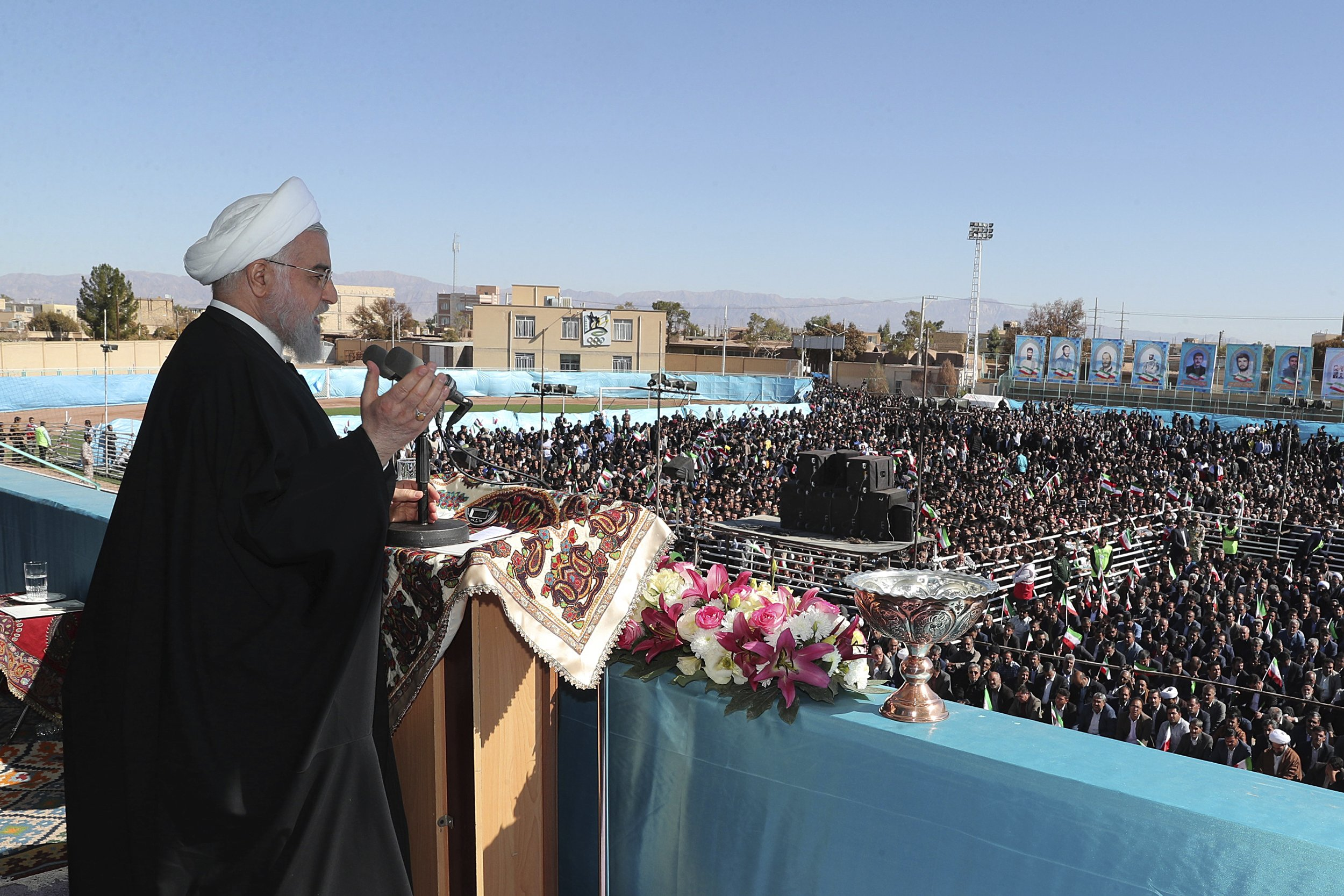 The Latest: Iran says working with IAEA to answer questions