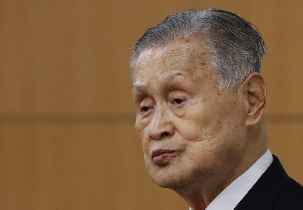 Head of Tokyo Games won't resign despite derogatory comments about women