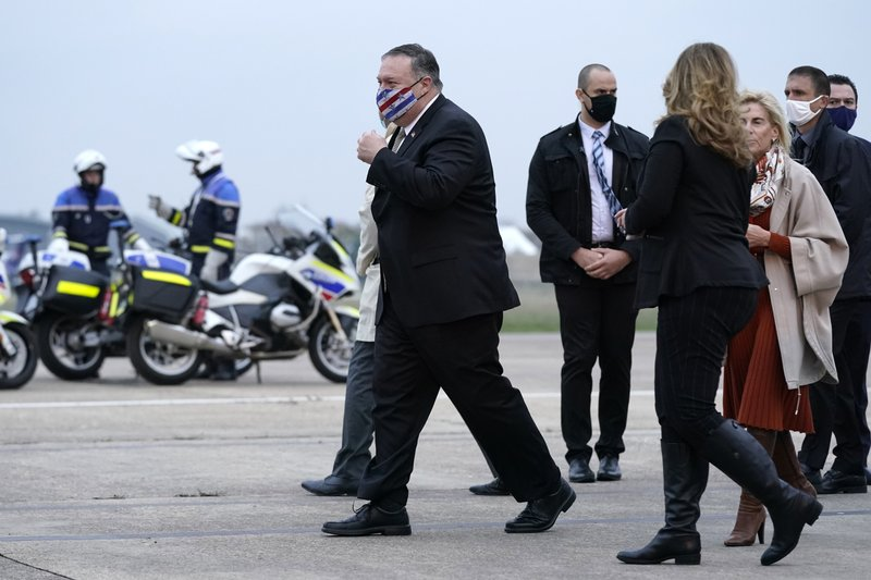France S Macron Hosts Trump Envoy After Congratulating Biden