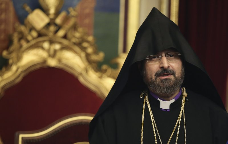 Turkey's Armenian church elects new patriarch