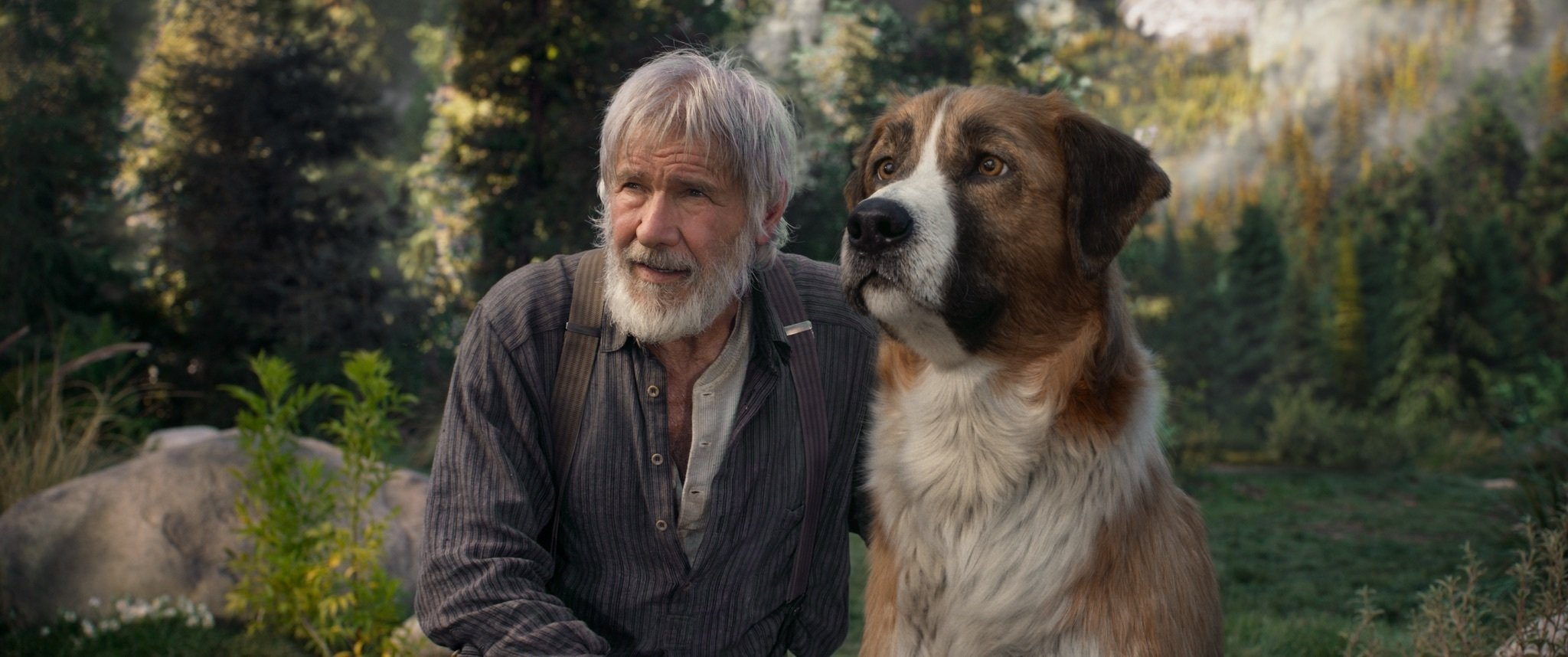 Review: A CGI canine yearns to be free in 'Call of the Wild'