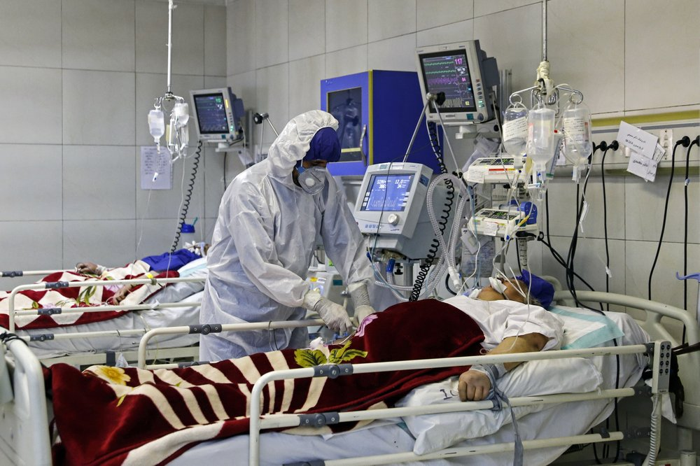 Doctors and nurses in Iran have been hard hit by the virus
