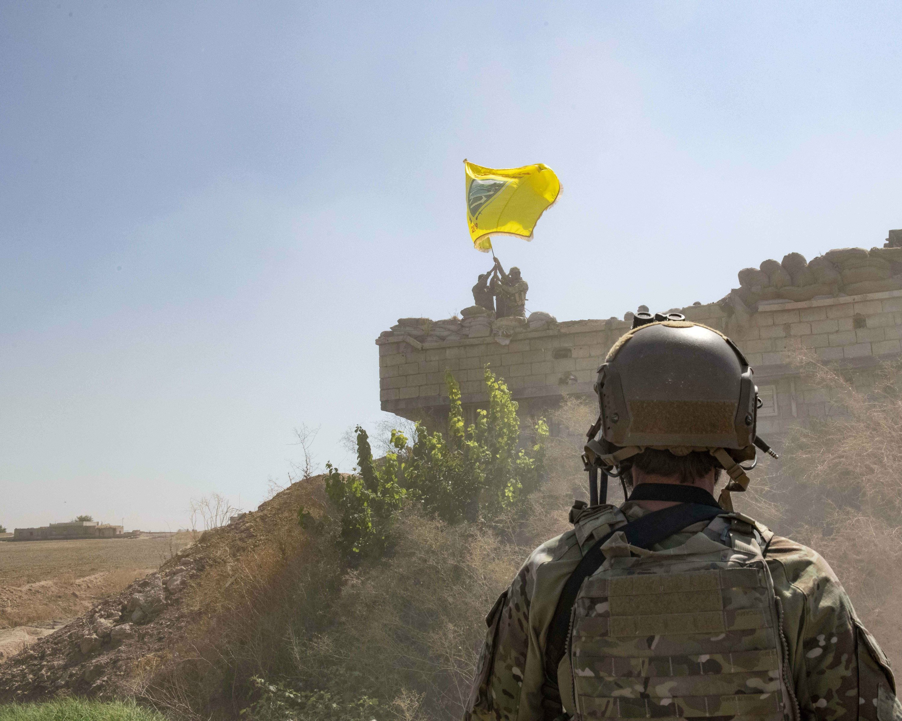 Syria demands withdrawal of all American, Turkish forces